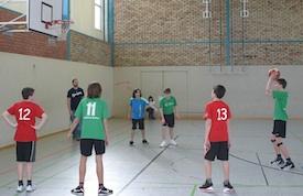 Zerbst (in grün) dominierte das Turnier.