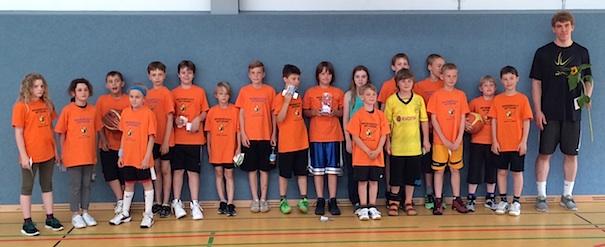 Zur aktivsten Mannschaft der Saison gewählt: Die Grundschule Wittekind