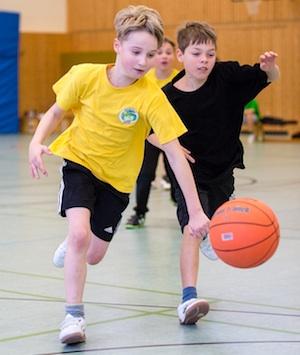Insgesamt 29 Kinder waren bei der zweiten Auflage des Grundschul Cups in Dessau dabei. /// Foto: Hartmut Bösener