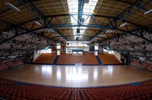 Die Dessauer Anhalt-Arena ist am Sonntag Austrragungsort des Finaltuniers. // Foto: Mitteldeutsche Zeitung