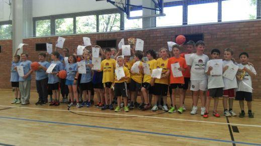 Spaß, Basketball, T-Shirts, Urkunden, Preise und noch viel mehr. // Foto: USC Magdeburg