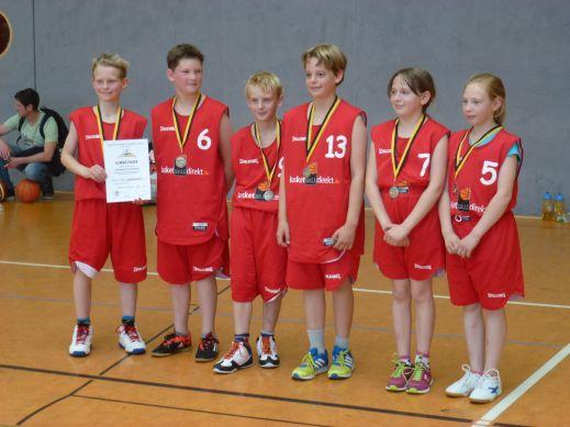 """Die GS """"Johannes"""" ist der Champion 2014/15. Herzlichen Glückwunsch! // Foto: Hebner"""