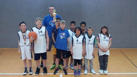 Die City-Basketballer verteidigen den Staffeltitel - Herzlichen Glückwunsch! // Foto: privat