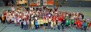 "Start Projekt ""Schulliga PLUS"" in Quedlinburg mit 120 Kindern. // Foto: Sven Brückner"