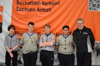 Das Schieri-Team um Mentor Gerald Reither. // Foto: BVSA