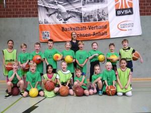 Das Team der Giants Goethestraße in der Staffel Altmark