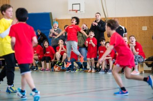 Freude bei den Akazien Bulls. Der Staffelsieg steht kurz bevor! // Foto: Hartmut Bösener